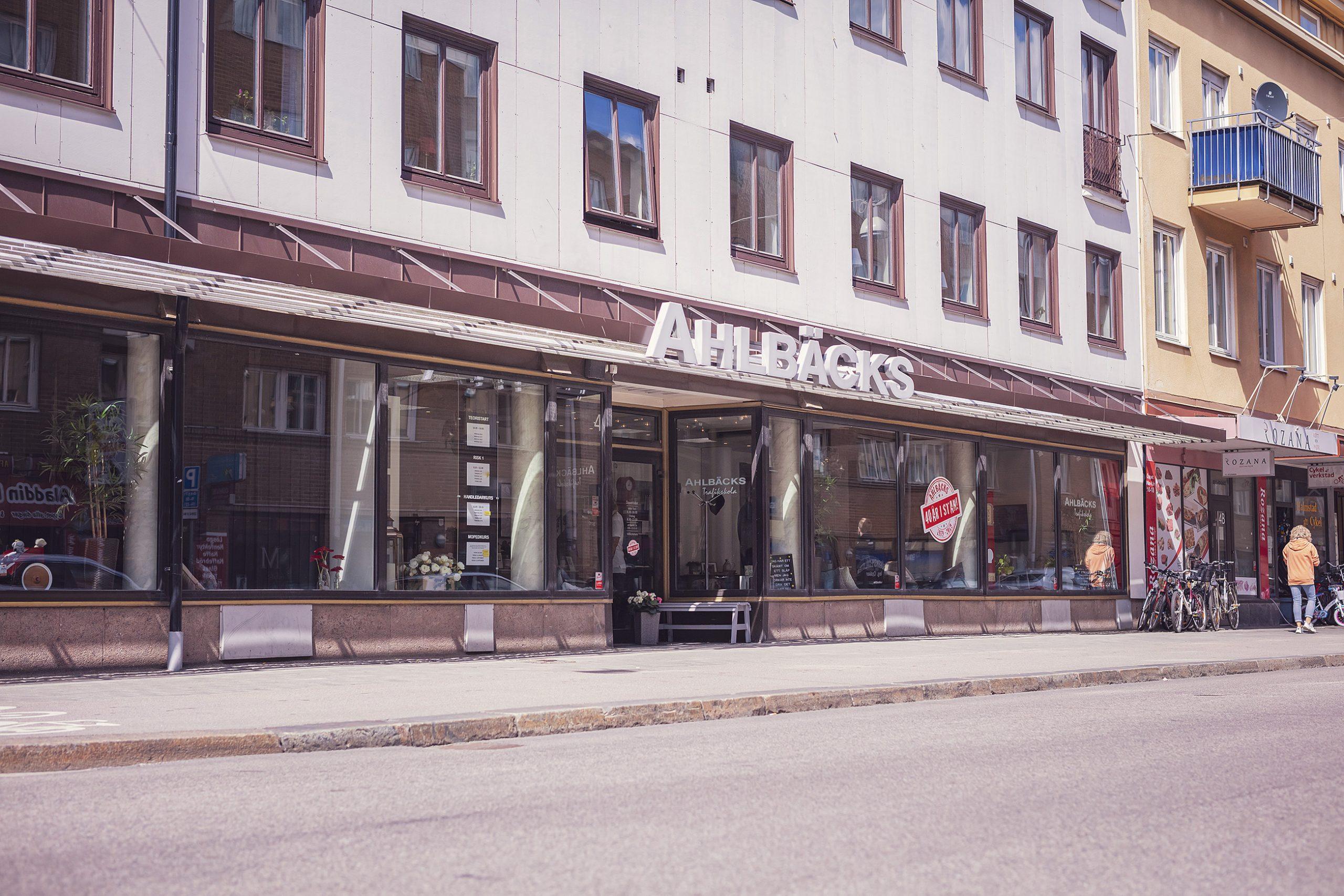 Ahlbäcks trafikskola